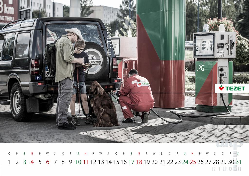 Sesja fotograficzna do kalendarza 2015 dla firmy TEZET