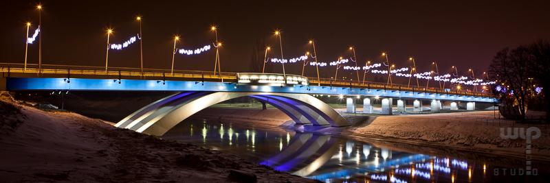 Mosty w Rzeszowie | iluminacja
