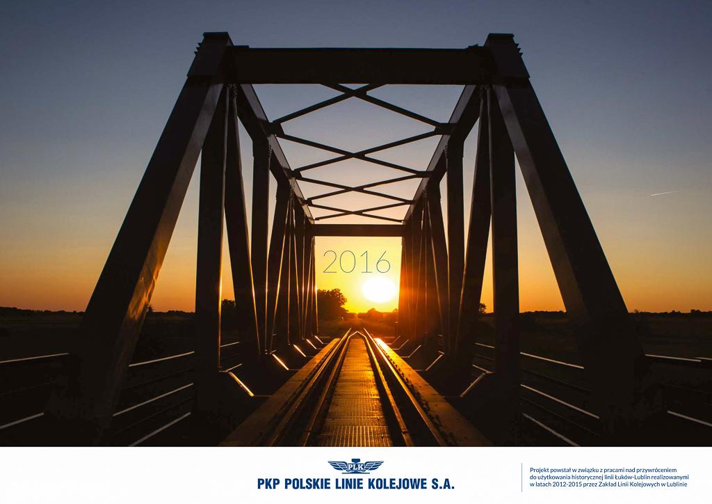 Kalendarz 2016 dla Zakładu Lini Kolejowych Lublin