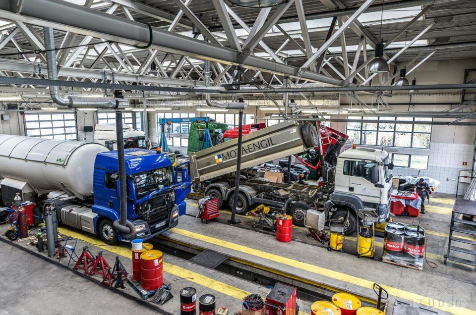 Sesja dla firmy MAN Truck Service BURY Lublin