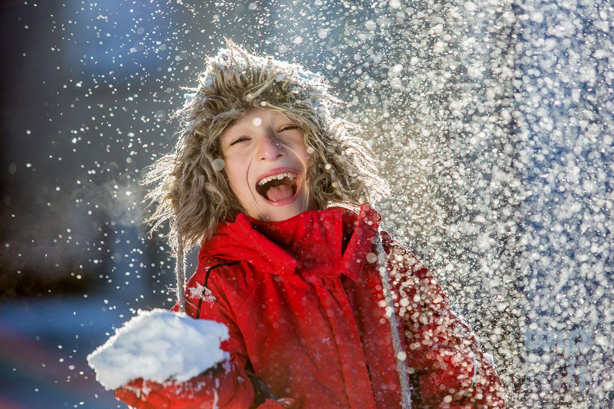 , Dzieci lubią zimę – fotografie ilustracyjne, Studio Fotograficzne Lublin , Studio Fotograficzne Lublin