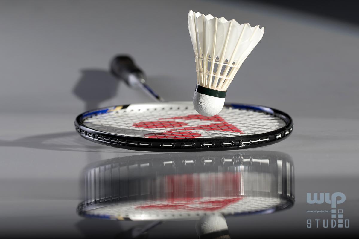, Badminton – fotografie ilustracyjne, Studio Fotograficzne Lublin , Studio Fotograficzne Lublin