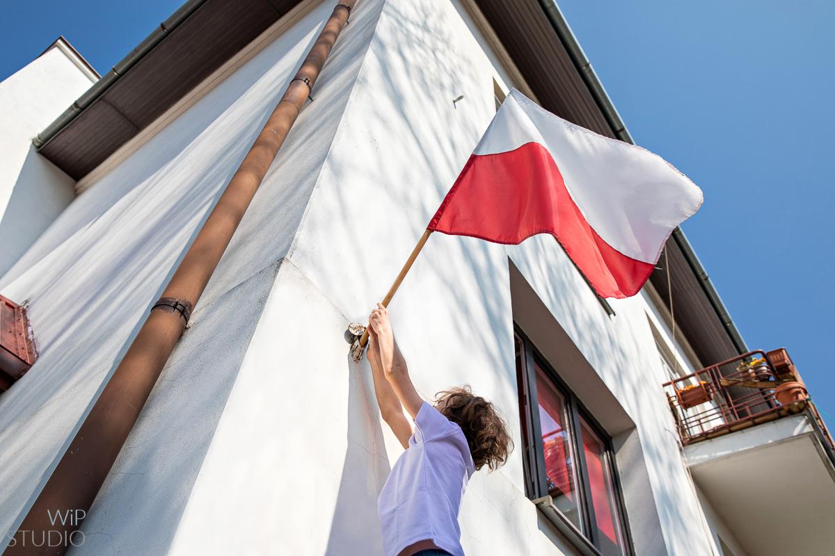 , Święto Narodowe Trzeciego Maja   Dzień Flagi   fotografie ilustracyjne, Studio Fotograficzne Lublin , Studio Fotograficzne Lublin