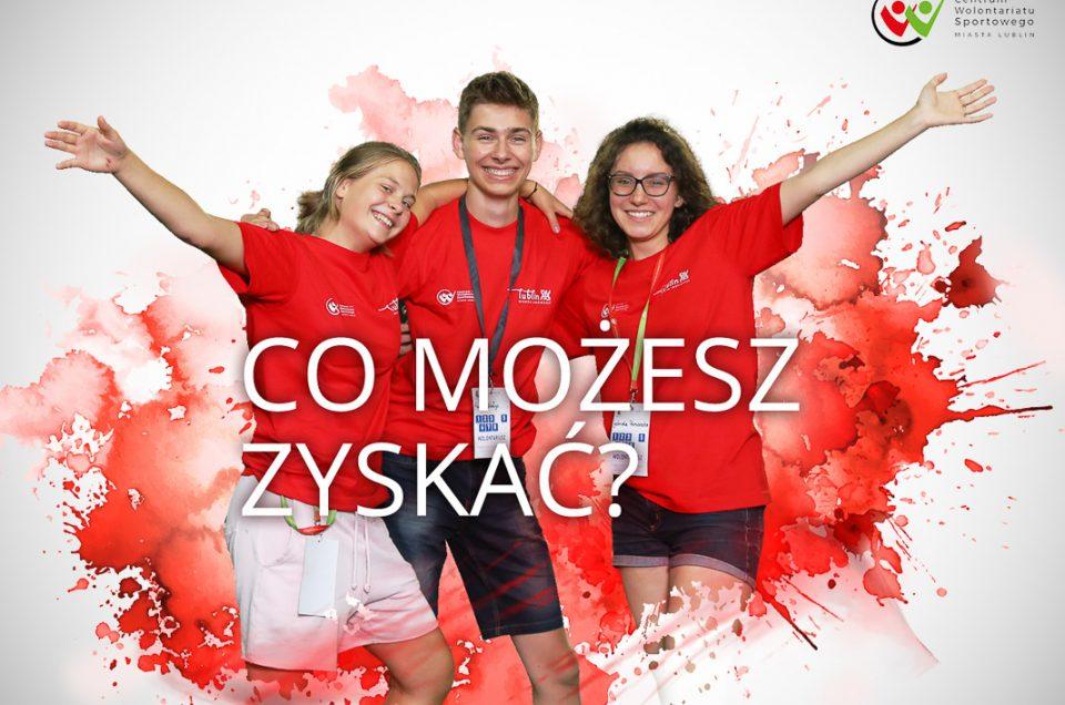 Centrum Wolontariatu Sportowego Miasta Lublin – sesja wizerunkowa