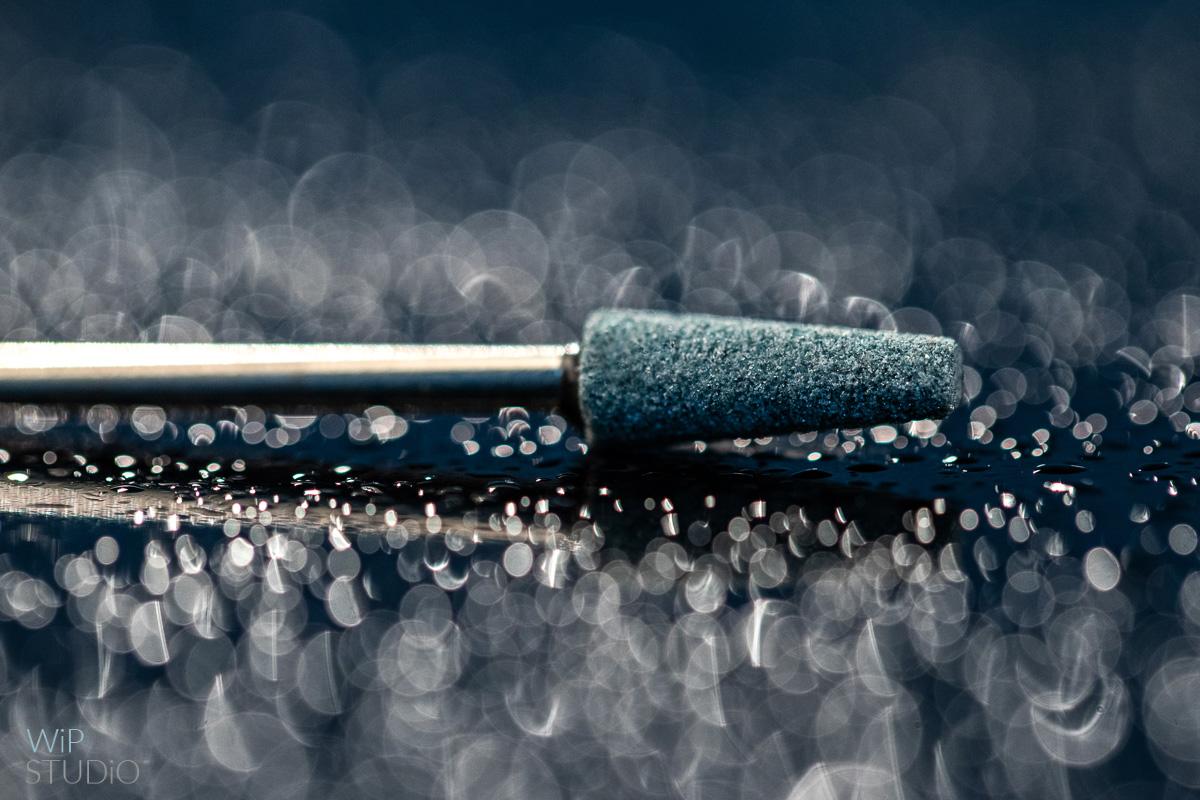 Makro-fotografia produktowa - Frezy diamentowe