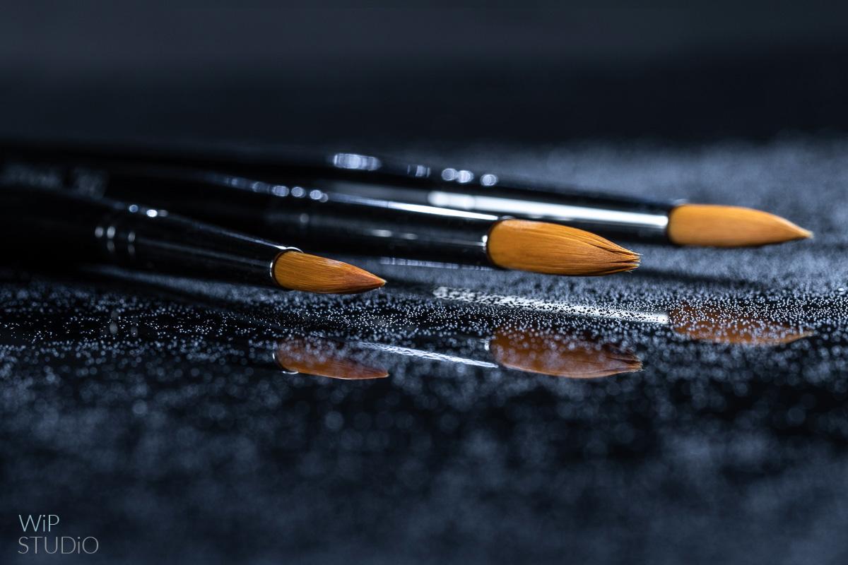 Pędzle do makijażu | fotografia produktowa