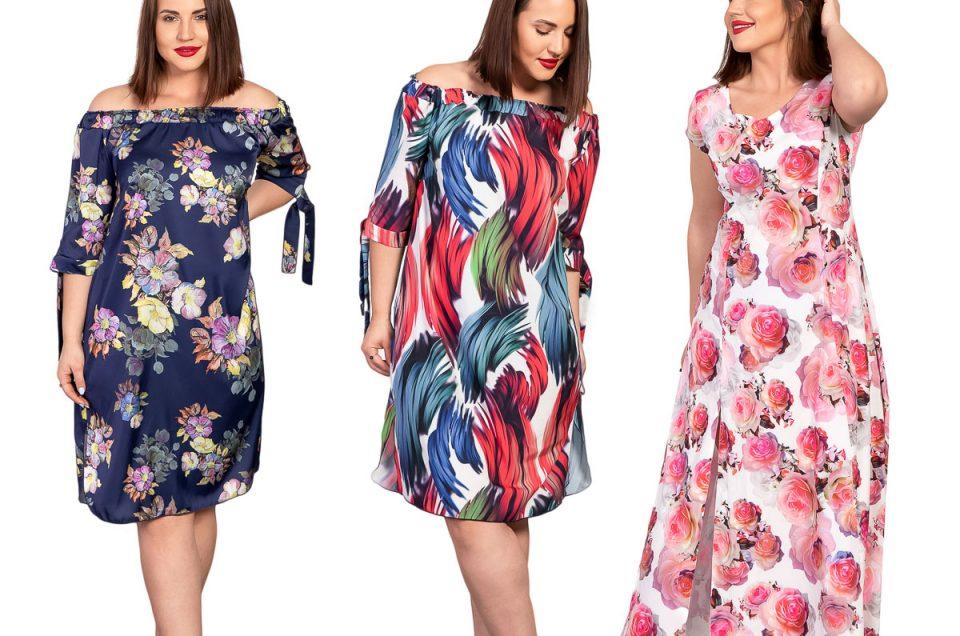 Sukienki - sesja ubraniowa dla sklepu internetowego