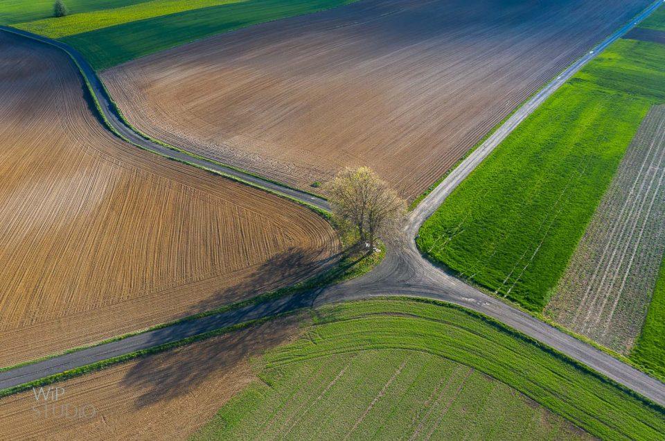 Poland Spring  z lotu drona :)