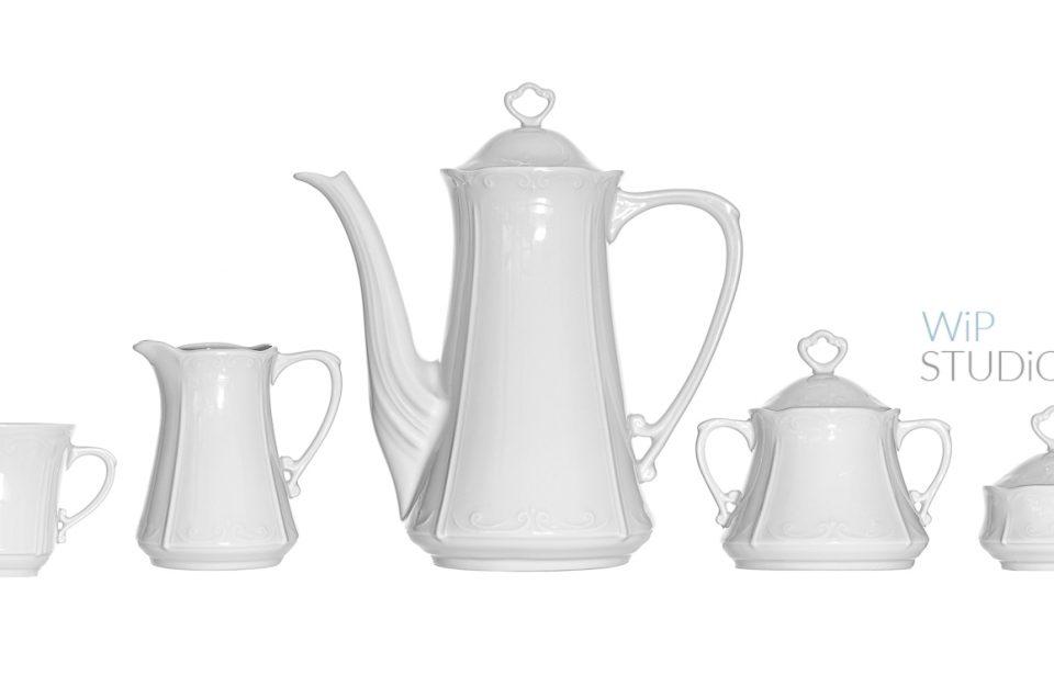 Porcelana - fotografia produktowa