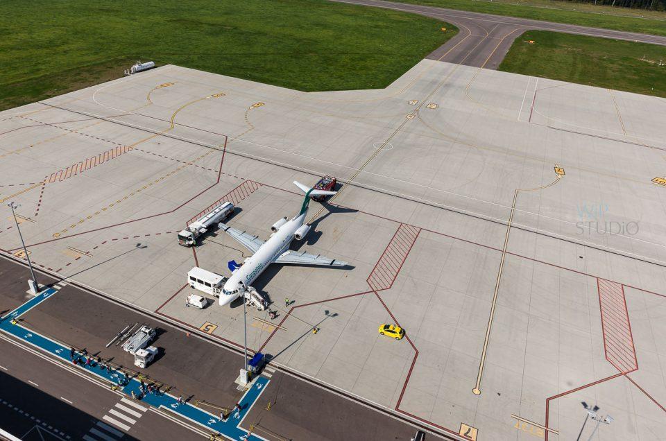 Port lotniczy Lublin – zdjęcia z drona
